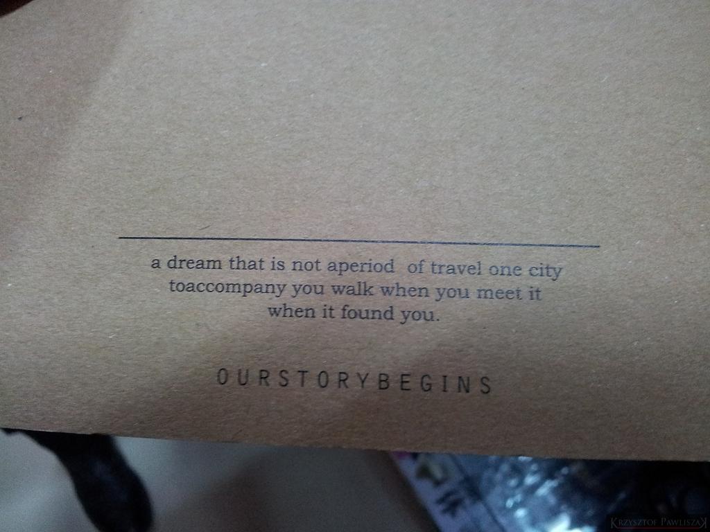 a dream that is not aperiod of travel one city toaccompany you walk when you  meet it when it found you -  sen, że nie jest to okres podróży jednego miasta towarzyszyć ci chodzić kiedy spotkasz to, kiedy cię znalazło - aż palce bolą od pisania głupot Dzięki dla Beaty za znalezisko