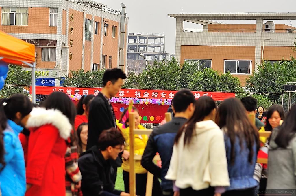 Sport i rozrywka to główny punkt obchodów dnia kobiet na kampusie YZNY