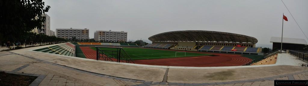 Stadiona sportowy na kampusie YZNU.