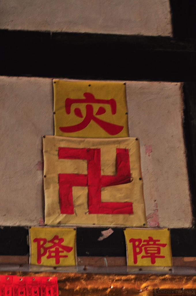 Swastyka? Nie symbol szczęścia wg Buddystów