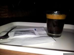 Espresso po chińsku - serwowane w kieliszku